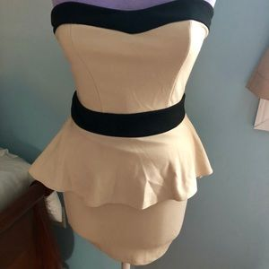Gently worn Peplum Mini Dress